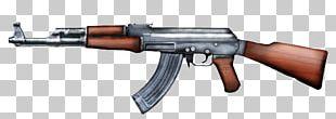 AK-47 Firearm Assault Rifle AKM PNG