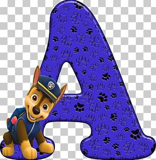 Alphabet Letter PAW Patrol Air And Sea Adventures Å PNG