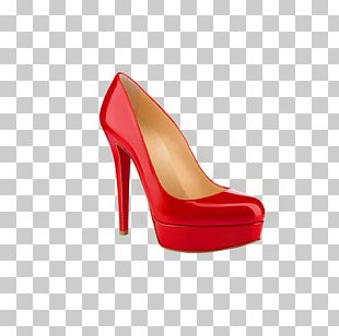 High-heeled Footwear Shoe Sandal PNG