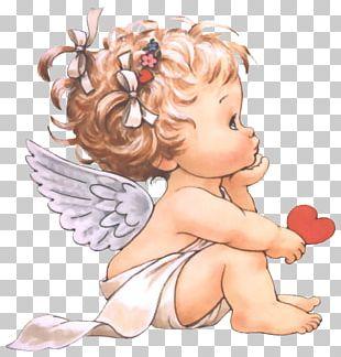 Valentine's Day Child Cherub Angel Love PNG
