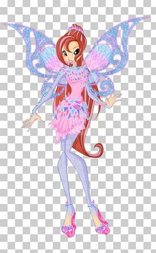 Bloom Fairy Animation Butterflix Magic PNG