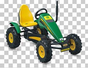 Go-kart John Deere Kart Racing Quadracycle Tractor PNG
