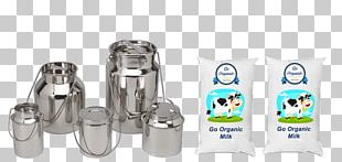 Milk Churn Stainless Steel Gravy Simmering PNG