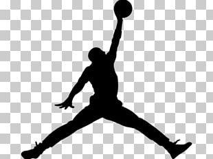 Jumpman Air Jordan Silhouette Nike Brand PNG