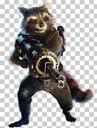 Rocket Raccoon Star-Lord Nebula Gamora Thanos PNG