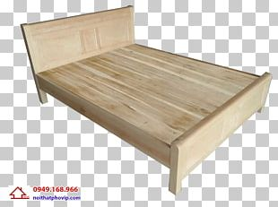 Bed Frame Table Sleep Wood PNG