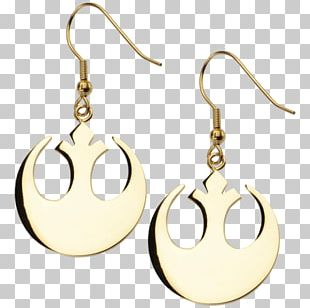 Earring Body Jewellery Symbol Gold PNG