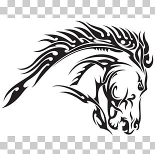 Horse Head Mask Decal Tattoo PNG