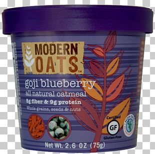 Superfood Oatmeal Product Blueberry Ounce PNG