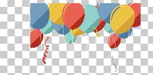 Balloon Birthday Poster PNG