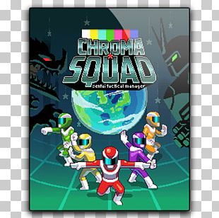 Chroma Squad Tactical Role-playing Game Super Sentai Steam PNG