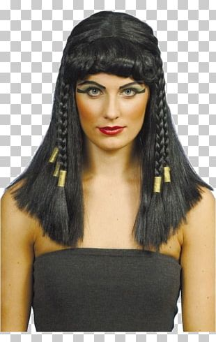 Cleopatra Wig Costume Party Fashion PNG