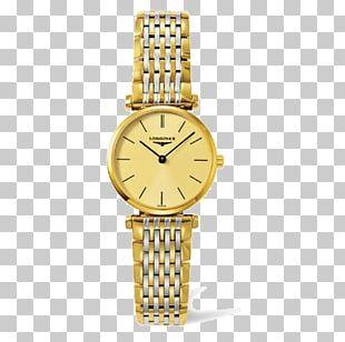 Longines Watch Strap Bracelet Diamond PNG