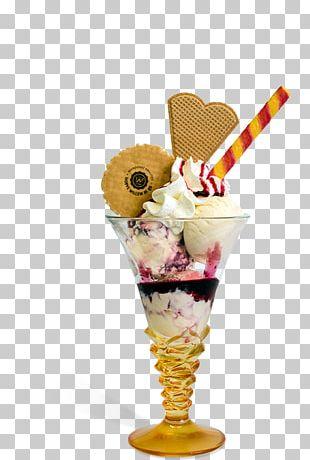 Sundae Heere Aan De Maas Ice Cream Knickerbocker Glory Food PNG