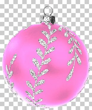 Christmas Ornament Christmas Decoration Magenta Pink M PNG