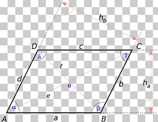 Parallelogram Diagonal Angle Quadrilateral Square PNG