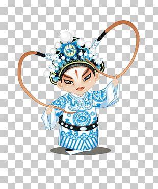 Beijing Peking Opera Chinese Opera Character PNG