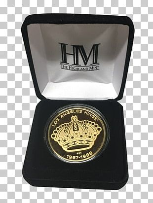 Coin Silver Crown Gold Los Angeles Kings PNG