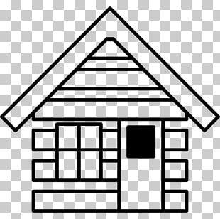 Log Cabin House Building Cottage PNG