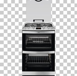 AEG 17166GM-MN 60cm Double Oven Gas Cooker Gas Stove Cooking Ranges AEG 17166GT-MN 60 Cm Gas Cooker PNG