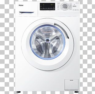 Washing Machines Haier Combo Washer Dryer Home Appliance PNG