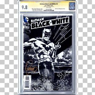 Batman Black And White DC Comics Comic Book PNG
