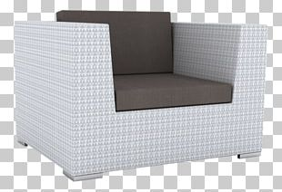 Chair Chaise Longue Furniture Wicker Rattan PNG