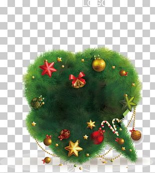New Year's Day Christmas Tree PNG