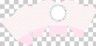 Paper Line Pink M Textile Font PNG