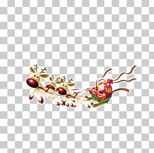 Santa Claus Paper Wedding Invitation Template Christmas PNG