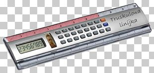 Measuring Scales Solar-powered Calculator Ruler Scientific Calculator PNG