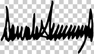 Donald Trump 2017 Presidential Inauguration President Of The United States Signature PNG