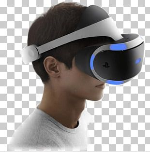 PlayStation VR Oculus Rift Virtual Reality Headset PlayStation 4 PNG