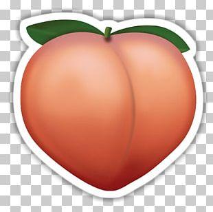 T-shirt Emoji Sticker Peach Redbubble PNG