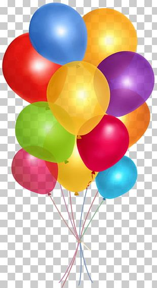 Toy Balloon Party Birthday PNG