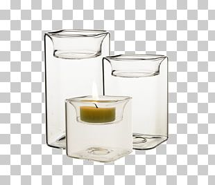 Tealight Glass Votive Candle Candlestick PNG