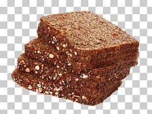 Rye Bread Pumpernickel Brown Bread PNG