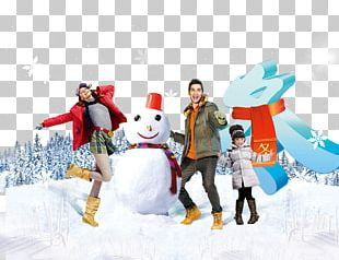 Winter Sales Promotion Advertising Poster Clothing PNG