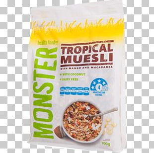 Muesli Breakfast Cereal Porridge Food PNG
