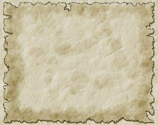 Parchment Paper World Map Parchment Paper PNG