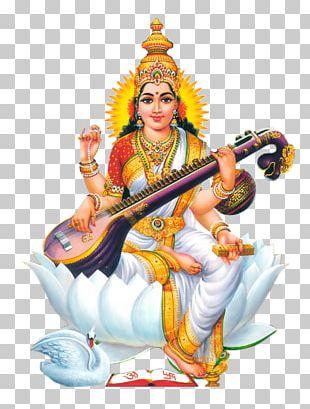 Shiva Ganesha Saraswati Basant Panchami Devi PNG