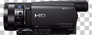 Sony Corporation Camcorder 4K Resolution Camera Sony Handycam FDR-AX100 PNG