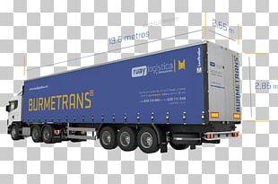 Trailer Truck Spain Vehicle Tautliner PNG