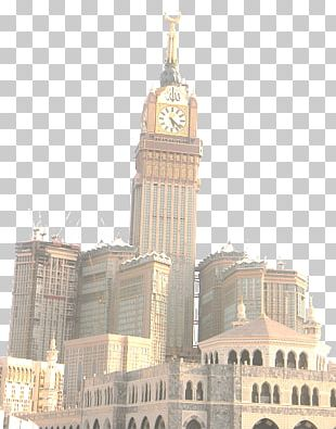 Abraj Al Bait Great Mosque Of Mecca Kaaba Makkah Royal Clock Tower Hotel Medina PNG