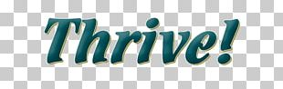 Logo Brand Thrive Community Fitness Desktop PNG