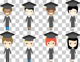 Student Graduation Ceremony Square Academic Cap Academic Degree PNG