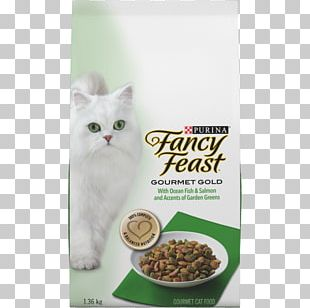 Cat Food Fancy Feast Gourmet Cat Dry Food PNG