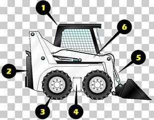 Caterpillar Inc. Skid-steer Loader Architectural Engineering Heavy Machinery PNG