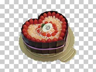 Birthday Cake Shortcake Chocolate Cake Cream Milk PNG