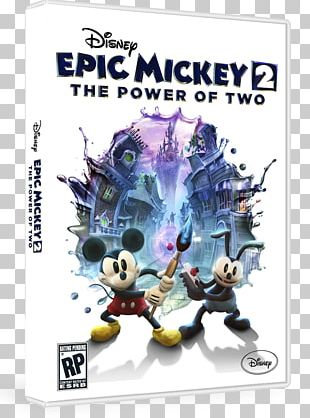 Epic Mickey 2: The Power Of Two Wii U Xbox 360 PNG